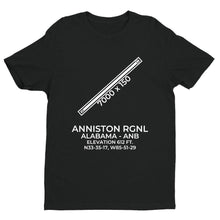 Load image into Gallery viewer, anb anniston al t shirt, Black