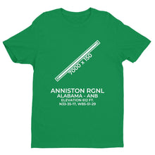 Load image into Gallery viewer, anb anniston al t shirt, Green