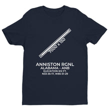 Load image into Gallery viewer, anb anniston al t shirt, Navy