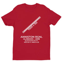 Load image into Gallery viewer, anb anniston al t shirt, Red