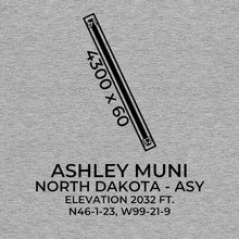 Load image into Gallery viewer, asy ashley nd t shirt, Gray