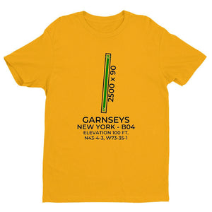 b04 schuylerville ny t shirt, Yellow