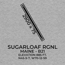 Load image into Gallery viewer, b21 carrabassett me t shirt, Gray