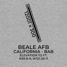 Load image into Gallery viewer, bab marysville ca t shirt, Gray