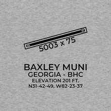 Load image into Gallery viewer, bhc baxley ga t shirt, Gray