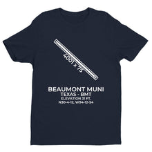 Load image into Gallery viewer, bmt beaumont tx t shirt, Navy