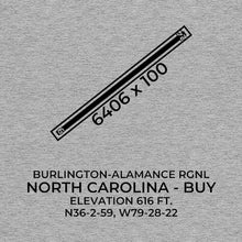 Load image into Gallery viewer, buy burlington nc t shirt, Gray