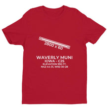 Load image into Gallery viewer, c25 waverly ia t shirt, Red