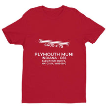 Load image into Gallery viewer, c65 plymouth in t shirt, Red