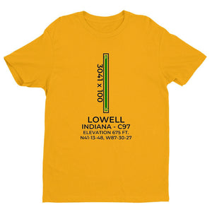 c97 lowell in t shirt, Yellow