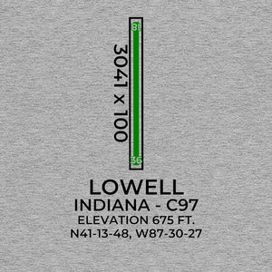 c97 lowell in t shirt, Gray