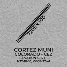 Load image into Gallery viewer, cez cortez co t shirt, Gray