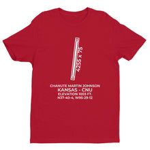 Load image into Gallery viewer, cnu chanute ks t shirt, Red