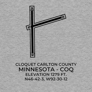 coq cloquet mn t shirt, Gray