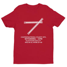 Load image into Gallery viewer, cpr casper wy t shirt, Red
