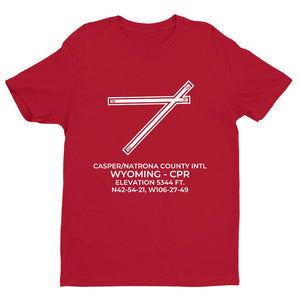 cpr casper wy t shirt, Red