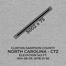 Load image into Gallery viewer, ctz clinton nc t shirt, Gray