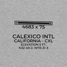 Load image into Gallery viewer, cxl calexico ca t shirt, Gray