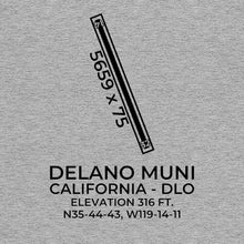 Load image into Gallery viewer, dlo delano ca t shirt, Gray