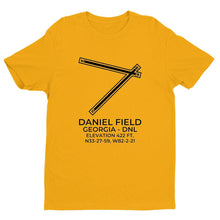 Load image into Gallery viewer, dnl augusta ga t shirt, Yellow