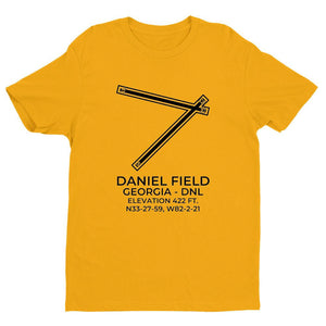 dnl augusta ga t shirt, Yellow