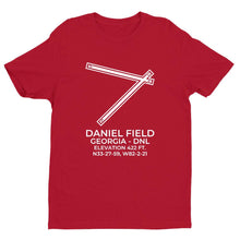 Load image into Gallery viewer, dnl augusta ga t shirt, Red