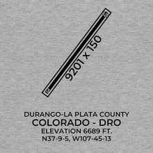 Load image into Gallery viewer, dro durango co t shirt, Gray