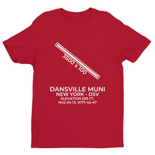 Load image into Gallery viewer, dsv dansville ny t shirt, Red