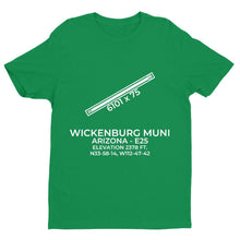 Load image into Gallery viewer, e25 wickenburg az t shirt, Green
