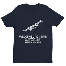 Load image into Gallery viewer, e25 wickenburg az t shirt, Navy