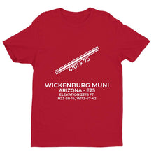 Load image into Gallery viewer, e25 wickenburg az t shirt, Red