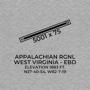 ebd williamson wv t shirt, Gray