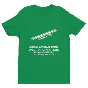 ebd williamson wv t shirt, Green
