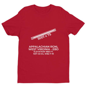 ebd williamson wv t shirt, Red