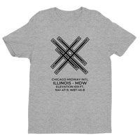 CHICAGO MIDWAY INTL in CHICAGO; ILLINOIS (MDW; KMDW) T-Shirt