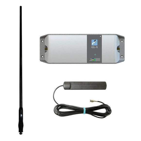 Cel-Fi Go Mobile Kit G31-3/8/28MK-CDQ-B (with T7 & Black CDQ7195 Antenna)