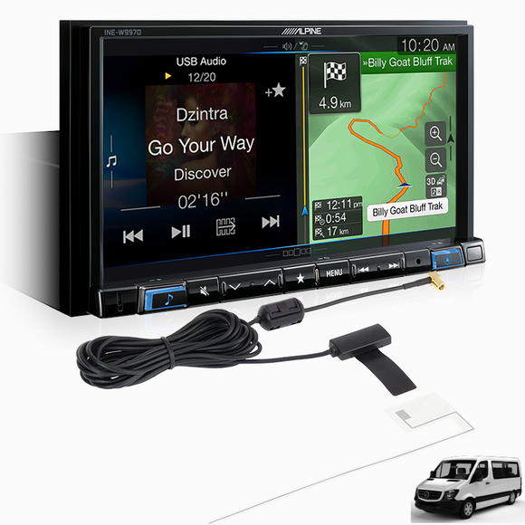 Alpine SPRINTER-W997D Premium System for Mercedes-Benz Sprinter