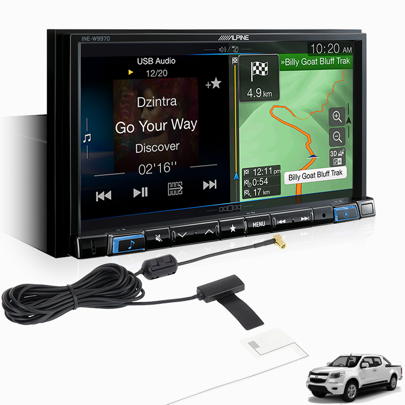 Alpine COLO15-W997D Premium Infotainment System for Holden Colorado