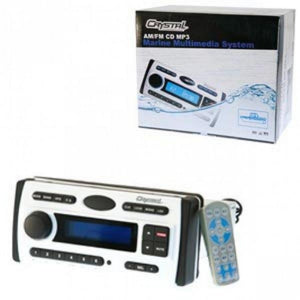 Crystal Mobile CR450W Multimedia Marine System (White)
