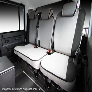 MSA TLP05 Toyota Landcruiser Prado J95 Series Second Row Seat Cover 60/40 Split (MTO)