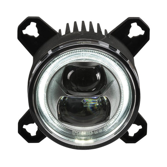 Narva 71989 90MM LED Low Beam Lamp with DRL & Position Ring