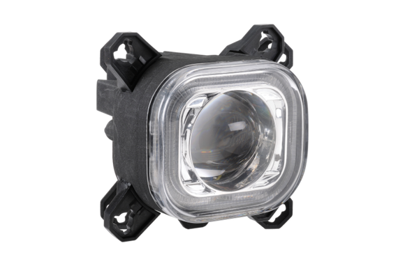 Narva 71998 90MM Square LED High Beam Lamp with DIR IND & Position Ring