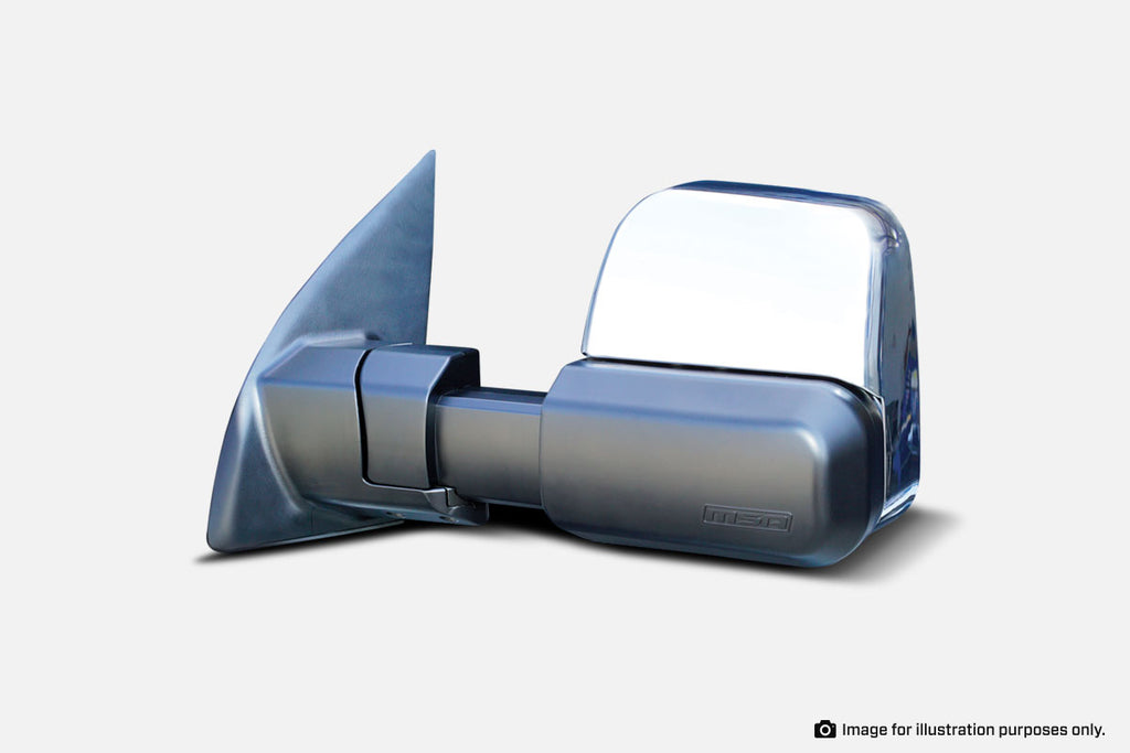 MSA TM601 Ford Ranger Towing Mirrors (Chrome Heated) 2012-Current