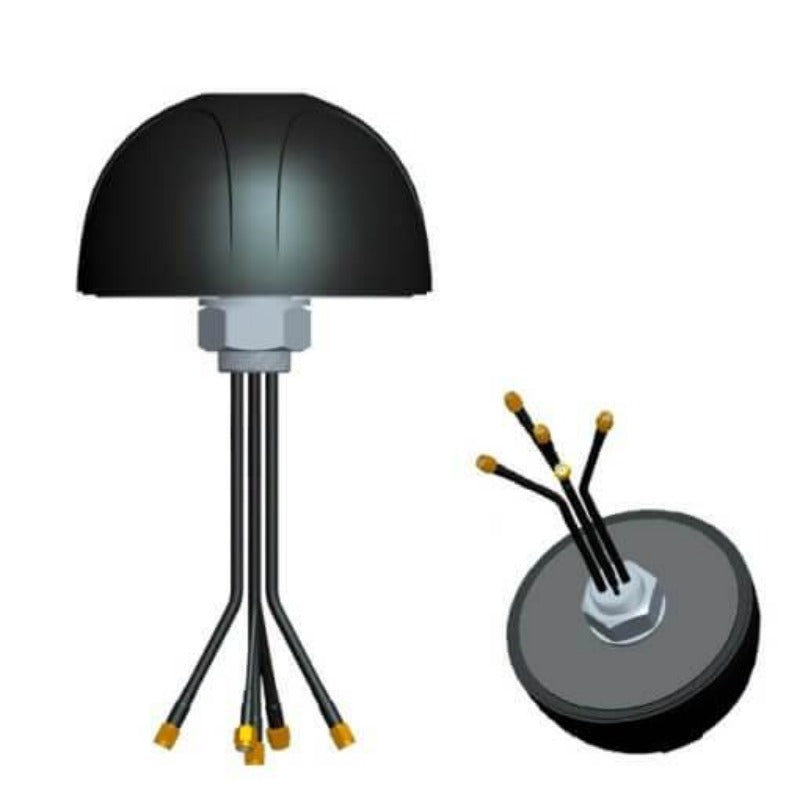 Blackhawk M2M Jellyfish Antenna – MIMO LTE / MIMO WiFi / GPS (3m cables)