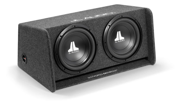 JL Audio CP212-W0v3 Dual 12W0v3 BassWedge, Ported, 2 Ω