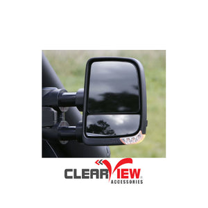 Clearview CVNG-HI-DC2012-FIEB Towing Mirrors [Next Gen; Pair; Powerfold; Multi-Signal Module; Electric; Black] - Holden Colorado 2012 on, Colorado 7, TrailBlazer | Isuzu D-Max 2012 on, MU-X