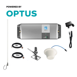 Cel-Fi GO RPR-CF-00339 Optus Marine Pack with Stainless Adjustable Mount (Ceiling Dome)