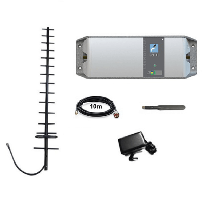 Cel-Fi RPR-CF-00529 GO Telstra Pack with Yagi (with Paddle Antenna)