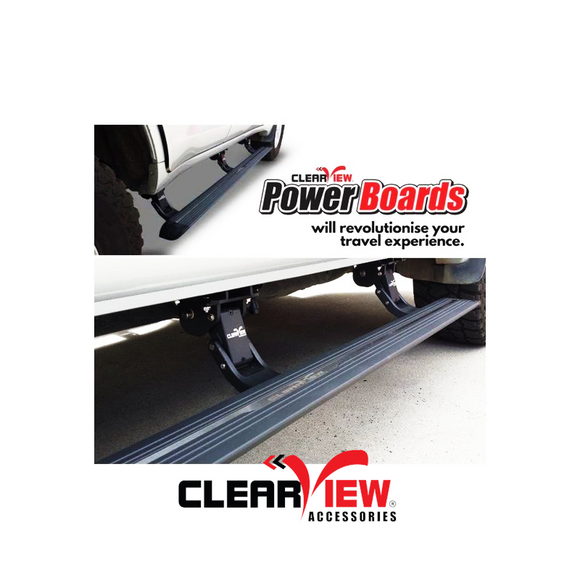 Clearview PB-TA-001 Toyota Landcruiser 200 Series Power Boards [PAIR]