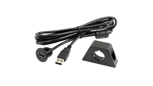 Alpine KCE-USB3 Flush Mount USB Extension Cable with Installation Bracket